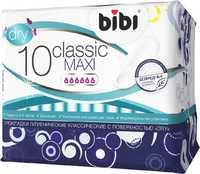 Прокладки BIBI Classic Maxi Dry 10 шт (4988) 1/24
