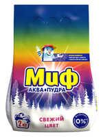 Стиральный порошок Миф АКВА ПУДРА Свежий цвет автомат 2 кг