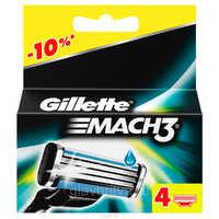Gillette Mach 3 кассета 4шт 1/10