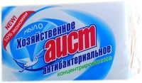 Мыло хозяйственное Аист антибактериальное 200г 1/48