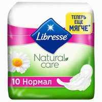 Прокладки Libresse Натуральная забота нормал 10 шт 1/20 (АР-9870)
