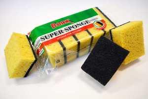 """Губка для посуды Вояж """"Super Sponge"""" 5 шт 1/50"""